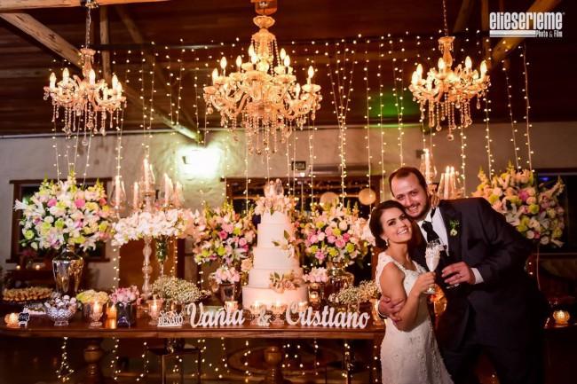 Viva os noivos Vânia e Cristiano!